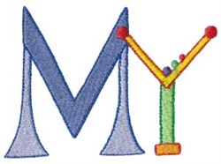 My Rules embroidery design