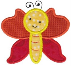 Spring Butterfly Applique embroidery design