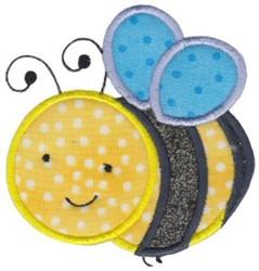 Bumblebee Applique embroidery design