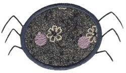 Spring Spider Applique embroidery design