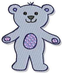 Playtime Bear embroidery design