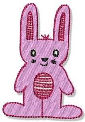 Playtime Bunny embroidery design