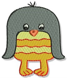 Playtime Penguin embroidery design