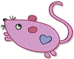 Playtime Mouse embroidery design