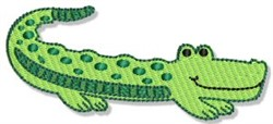 Playtime Alliagtor embroidery design