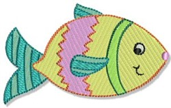 Playtime Fish embroidery design