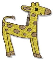 Playtime Giraffe embroidery design
