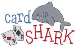 Tiny Tot Card Shark embroidery design