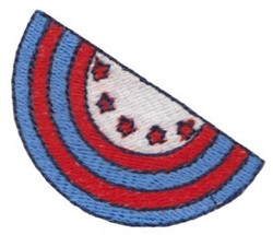 Patriotic Mini Bunting embroidery design