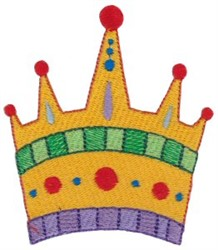 Royal Crown embroidery design