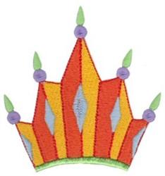 Diamond Crown embroidery design