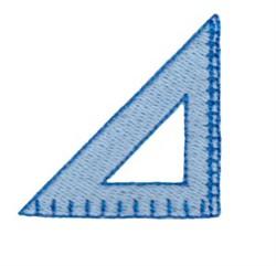 Traingle Ruler embroidery design