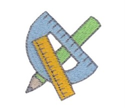 Measure Tools embroidery design