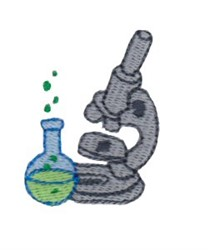 Science Tools embroidery design