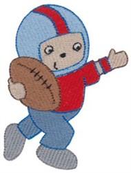 Football Boy embroidery design