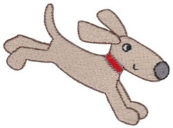 Puppy Dog embroidery design