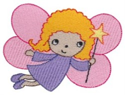 Fairy embroidery design
