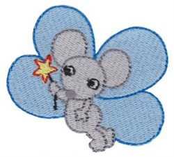Mouse Fairy embroidery design