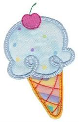 Applique Ice Cream embroidery design