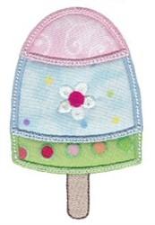 Applique Lollipop embroidery design