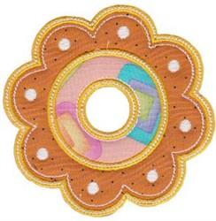 Applique Cookie embroidery design