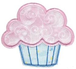 Applique Muffin embroidery design