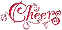 Christmas Cheers embroidery design