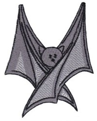 Halloween Vampire Bat embroidery design