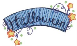 Halloween Stars embroidery design