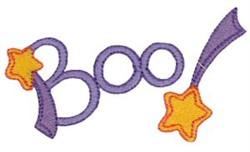 Boo Stars embroidery design