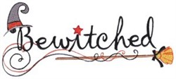 Bewitched embroidery design