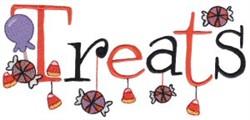 Halloween Treats embroidery design