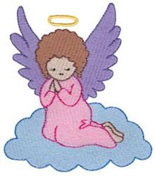 Nativity Cherub embroidery design