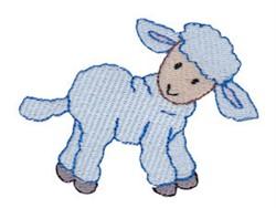 Nativity Lamb embroidery design