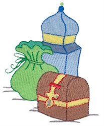 Nativity Wise Mens Gifts embroidery design