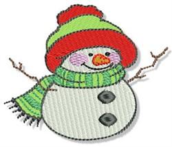 Christmas Snowman embroidery design