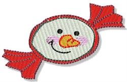 Christmas Snowman Candy embroidery design