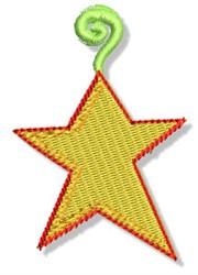Christmas Star Ornament embroidery design
