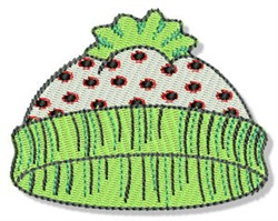 Christmas Stocking Cap embroidery design