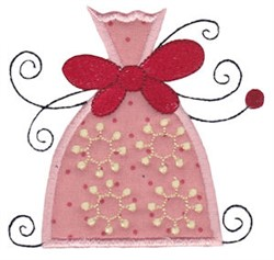 Applique Whimsical Ornament embroidery design