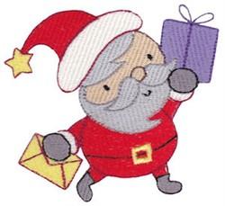 Here Comes Santa! embroidery design