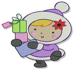 Cute Little Eskimo embroidery design