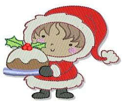Little Eskimo & Cake embroidery design