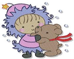 Little Eskimo & Bear embroidery design