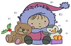 Little Eskimo Animal Friends embroidery design