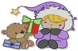 Little Eskimo & Teddy Bear embroidery design