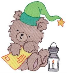 Christmas Bear & Letter embroidery design