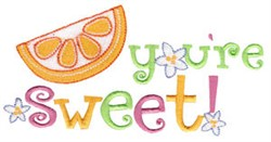 Youre Sweet! embroidery design
