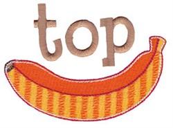 Top Banana embroidery design