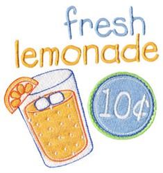 Fresh Lemonade embroidery design
